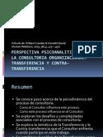 Perspectiva psicoanalitica sobre la consultoria organizacional.pptx