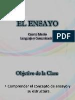 Clase El Ensayo