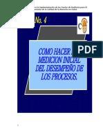 4 - Medición Inicial Del Desempeño de Procesos.