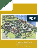 Cadillac Corridor Plan Report FINAL SINGLE PAGE