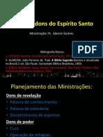 Os Dons Do Espírito Santo - Estudo Bíblico