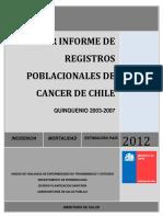 Informe Rpc Chile 2003-2007, Unidad Vent, Depto.epidemiologia-minsal,13.04.2012