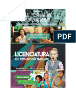 Licenciatura en Pedagogia Infantil
