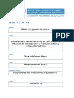Trabajo final de Máster -  MEZCLAS BINARIAS Y TERNARIASBASADAS EN CENIZAS VOLANTES - INFLUENCIA DEL ACTIVADOR SOBRE LA FORMACION DE FASES Y RESISTENCIAS MECANICAS.pdf