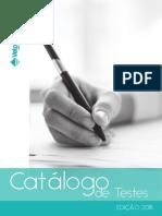 Catalogo Testes 2018