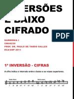 Inversões e Baixo Cifrado (2011)