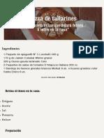 Pizza de Tallarines | Unimarc