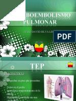 Tromboembolismo pulmonar- Julio David Silva León