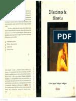 LIBRO 20 Lecciones de Filosofía, Carlos Augusto Velásquez Rodríguez.pdf