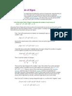 Descartes Rule of Signs.doc