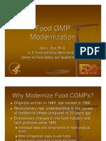 Cfsan Food Gmps