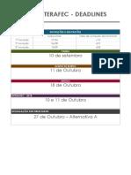 Xvii Interafec Deadlines