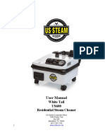 U.S. Steam White Tail User Manual 2017