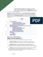 Evaluacion Analitica de Proyectos