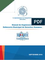18. MO. Defensoría de Derechos Humanos