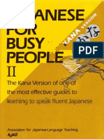 Japanese for Busy People 2 [Kana Version]