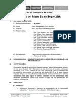 Proyecto i Dia Del Logro 2016