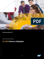 Highlights q1 2018