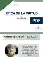 Semana 03 - Ética de La Virtud - Aristóteles