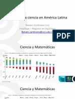 Estado de La Ciencia en América Latina - Renato Zambrano