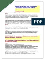 Norma Metodologica din 28 februarie 2007 generala de aparare impotriva incendiilor.docx