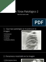 Examen Torax Pat 2