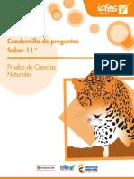 Cuadernillo de Preguntas-Saber 11- Ciencias Naturales