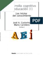 142591034 Castorina y Carretero Desarrollo Cognitivo y Educacion I