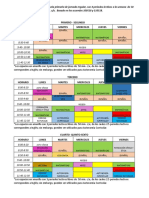 propuesta horario neuvo modelo educativo