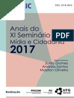Anais SEMIC - Cidadania - 2017