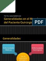 Generalidades Del Paciente Quirurgico