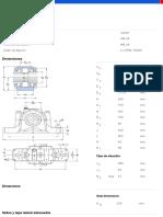 Soportes de Pie de Dos Piezas Series SNL y SE Para Rodamientos Montados Sobre Un Asiento Cilíndrico Con Sellos Estándares-SNL 528 %2B 22228
