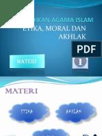 PENDIDIKAN AGAMA ISLAM - etika moral akhlak.pptx