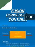 Fusión Conversión Continua