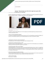"""Patricia Balbuena_ """"Sacaremos Un Decreto Supremo Para Dar Incentivos a Dueños de Casonas"""" _ Economía _ Gestion"""