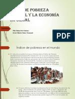 Índice de Pobreza Mundial y La Economía Informal