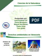 Exposicion Ciencias de La Naturaleza Derechos ambientales en Venezuela