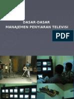 Dasar-dasar Manajemen Tv