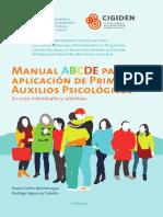 Manual ABCDE Para La Aplicación de Primeros Auxilios Psicológicos