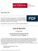 3622450 Thomas Paine the Age of Reason