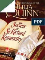 Julia Quinn - Quarteto Smythe-Smiths 04 - Os Segredos de Richard Kenworthy