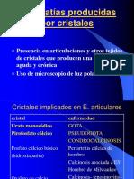 Artropatías producidas por cristales wagner everlyn