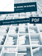 (Dynamics of Virtual Work) Dominique Méda, Patricia Vendramin (Auth.)-Reinventing Work in Europe_ Value, Generations and Labour-Palgrave Macmillan (2017)