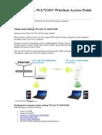 Cara Seting Tp Link