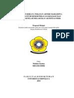 Proposal Revisi Sipro MBA