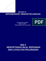 Bab 5 - Menciptakan Nilai_ Kepuasan Dan Loyalitas Pelanggan - Revisis