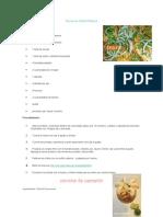 Recetas de Platos y Bebidas Tipicos Guatemala