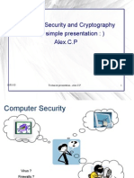Computer Security and Cryptography A simple Presentation