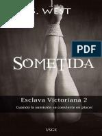 Sophie West - Serie Esclava Victoriana - 2 Sometida.pdf