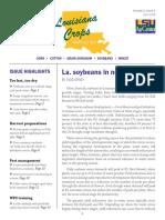 Louisiana Crops Newsletter July 2018
